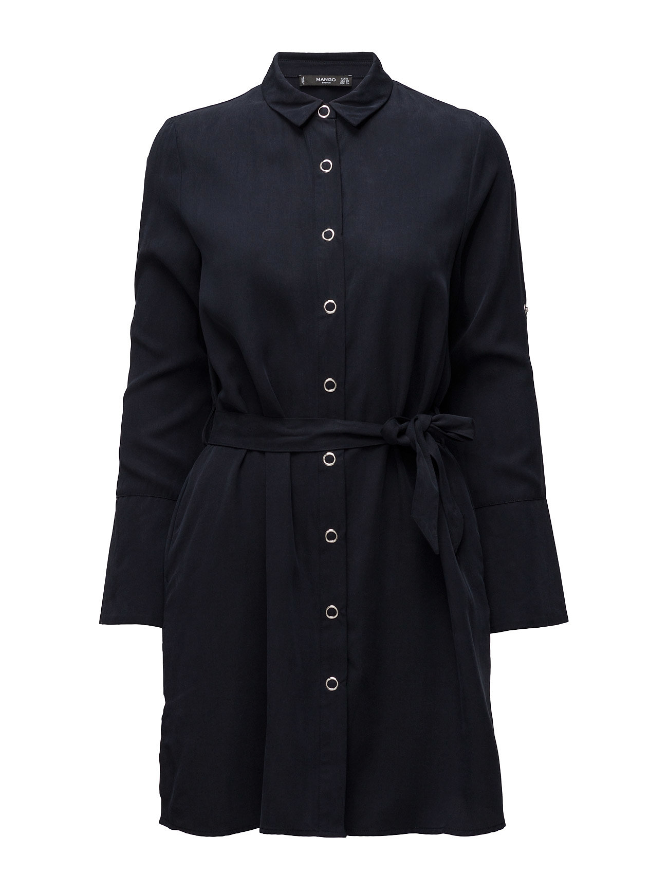 0079ca7106e Shop Flowy Shirt Dress Mango Korte kjoler i til Damer på en webshop