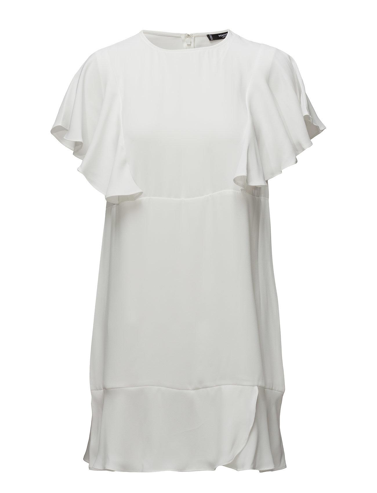 Flowy Ruffled Dress Mango Korte kjoler til Damer i