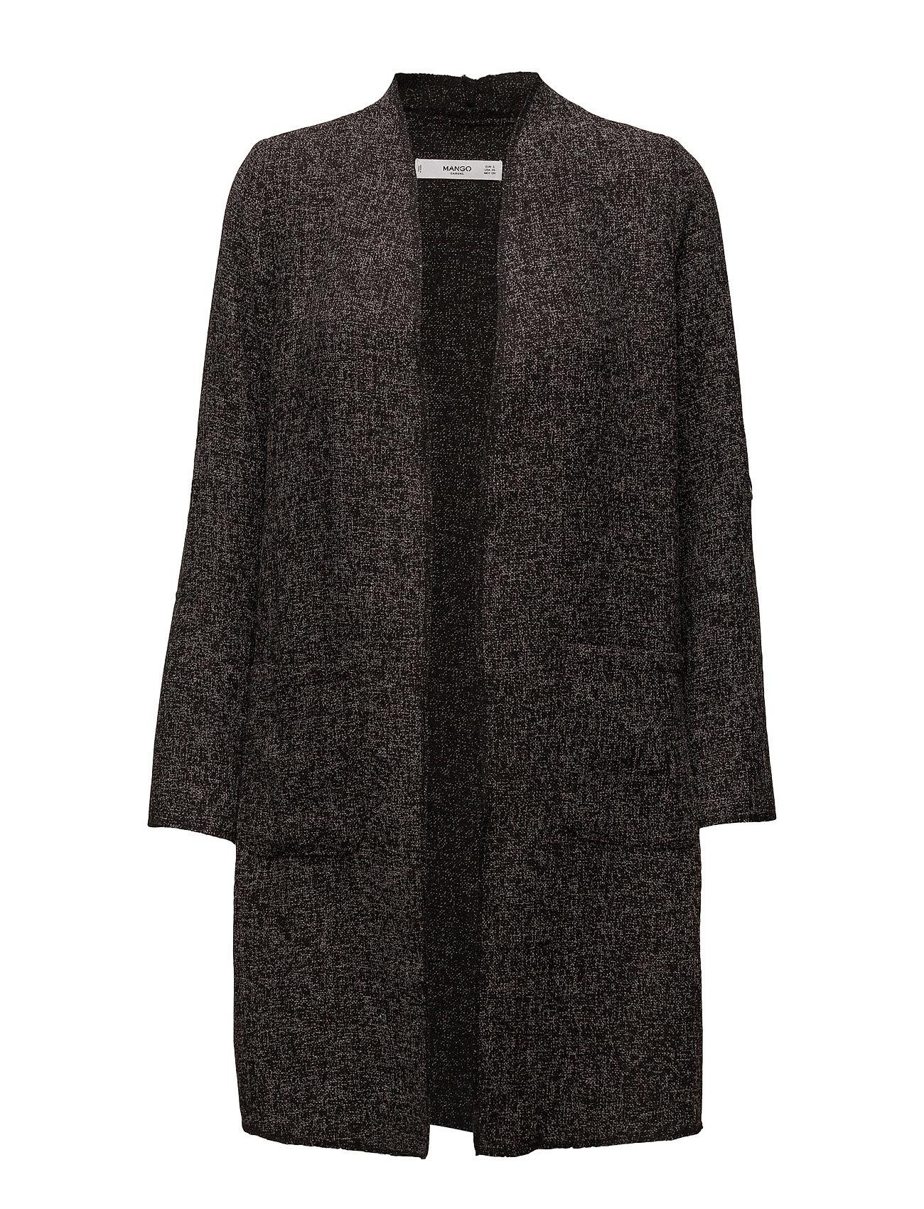 Unstructured Long Jacket Mango Coats