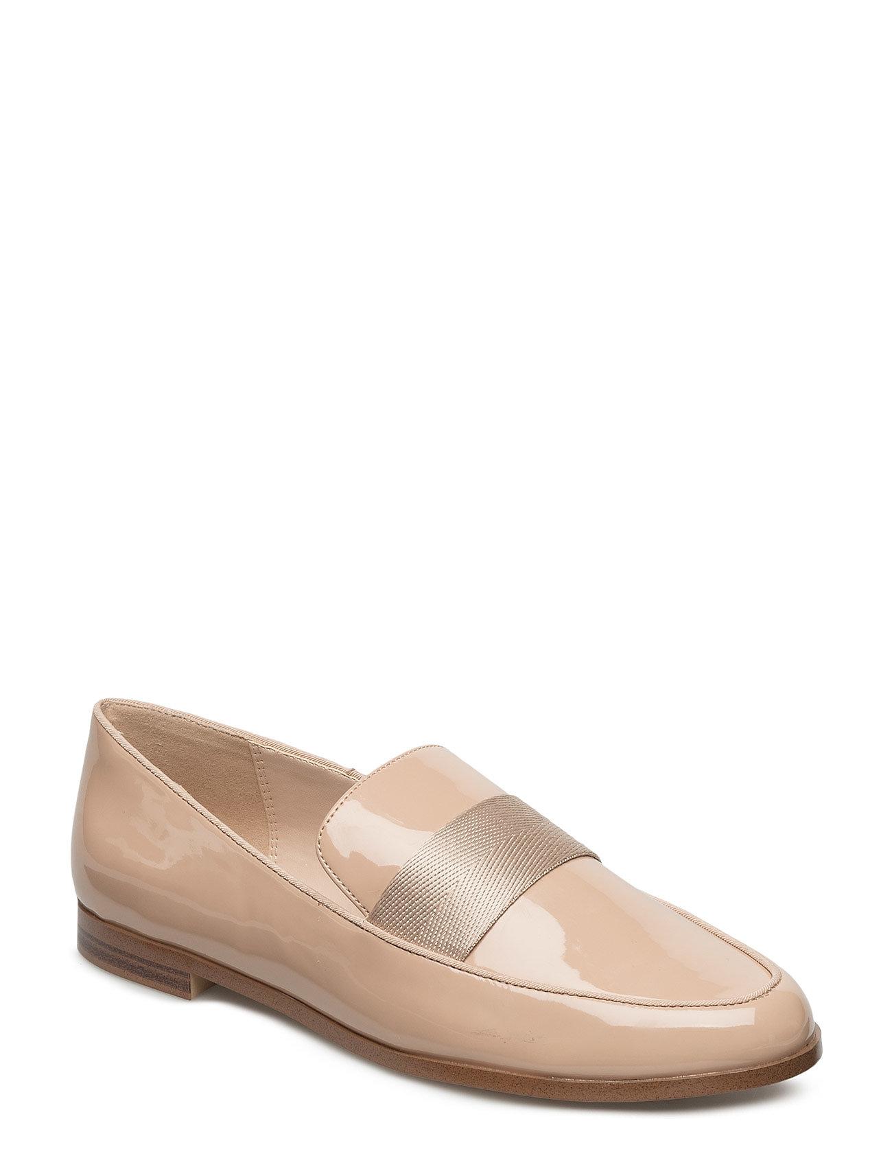Patent Loafers Mango Sko til Kvinder i Pink