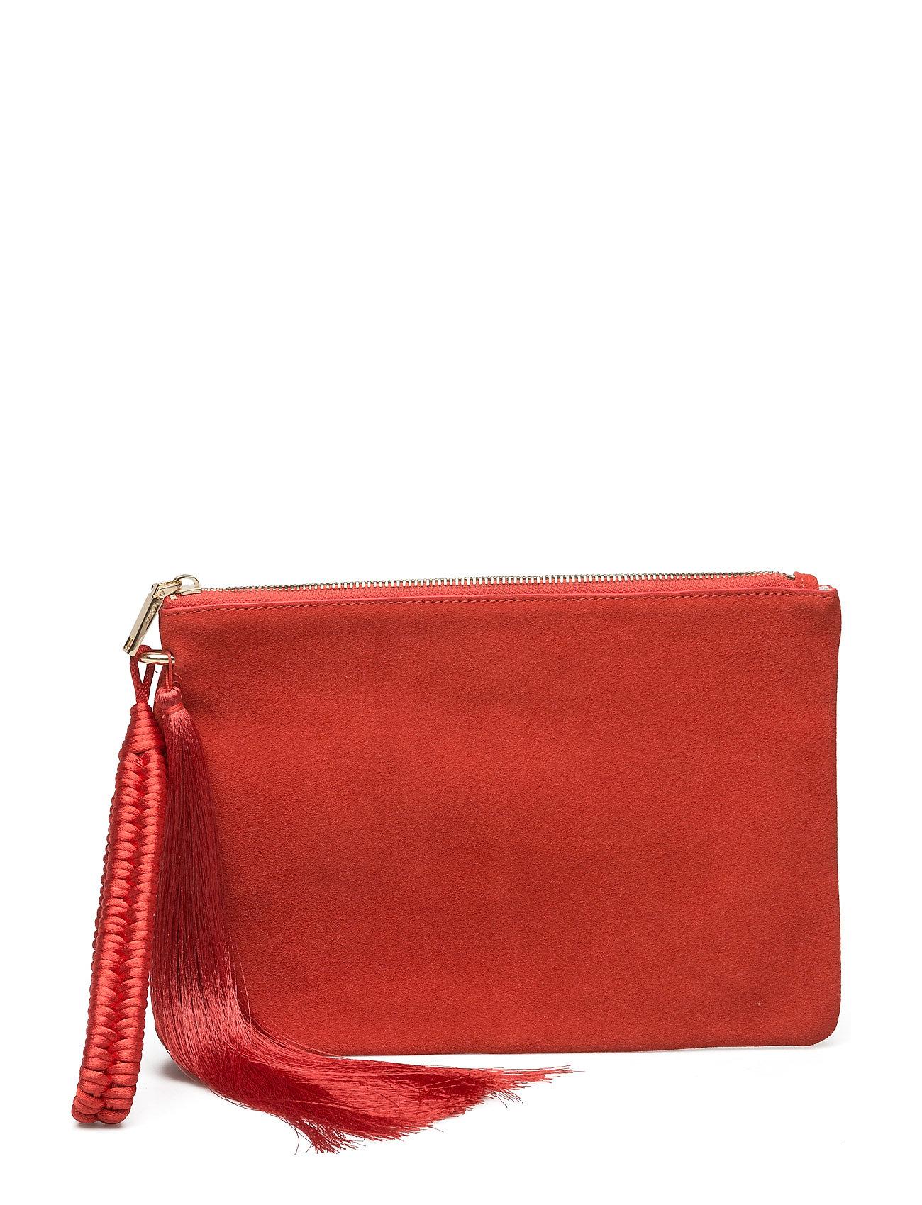 Leather Clutch Mango Små tasker til Damer i