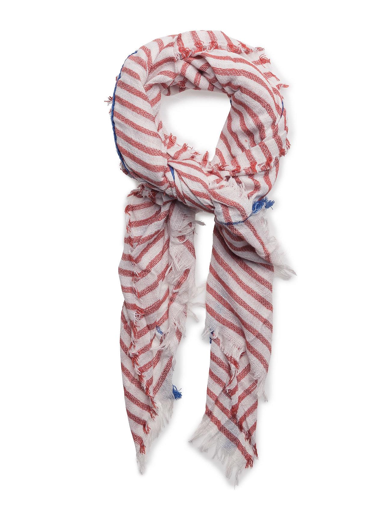 Striped Scarf Mango Halstørklæder til Damer i