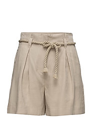 Modal-blend drawstring short - LT PASTEL GREY