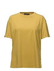 Oversize cotton t-shirt - BRIGHT YELLOW