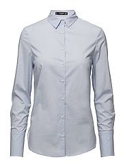 Cotton shirt - LT-PASTEL BLUE