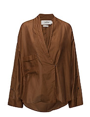 Oversize shirt openings - RUST - COPPER