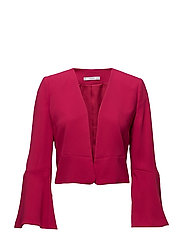 Flared sleeve blazer - MEDIUM RED