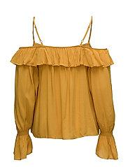 Flowy off-shoulder blouse