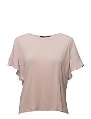 Contrasting t-shirt - LT-PASTEL PINK