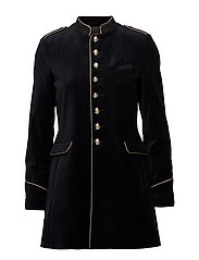 Military style coat - NAVY