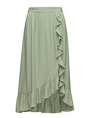 Mango - Ruffled Wrap Skirt