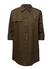 Military shirt - BEIGE - KHAKI