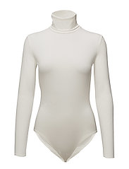 Turtleneck body - WHITE