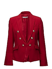 Flared sleeve blazer - RED