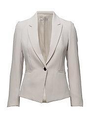 Essential structured blazer - NATURAL WHITE