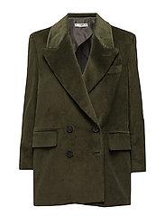 Oversize corduroy blazer - BEIGE - KHAKI