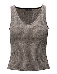 Ribbed top - GREY