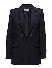 Pinstripe suit blazer - NAVY