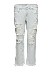 Ripped relaxed Cigar jeans - OPEN BLUE