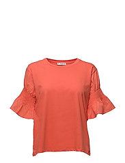 XXL sleeve t-shirt - BRIGHT RED