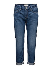 Relaxed crop Cigar jeans - OPEN BLUE