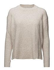Mango - Ribbed Panels Sweater