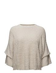 Mango - Flared Sleeves Texture Sweater
