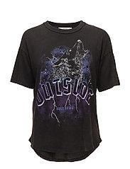 Rock cotton t-shirt - CHARCOAL