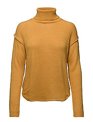 Turtleneck sweater - MEDIUM YELLOW