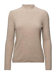 Ribbed wool-blend sweater - LT PASTEL GREY