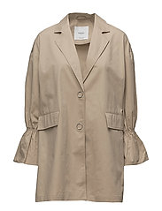 Flared sleeve trench