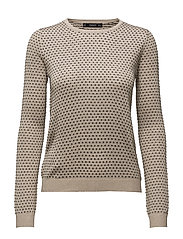 Metal thread sweater - GOLD