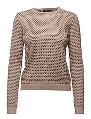 Metal thread sweater - PINK