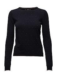 Metallic details sweater