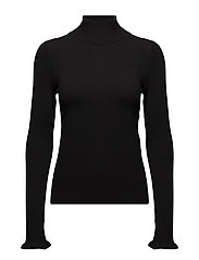 Turtle neck sweater - BLACK