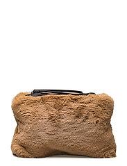 Velvel small bag - MEDIUM BROWN