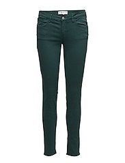 Kim skinny push-up jeans - GREEN