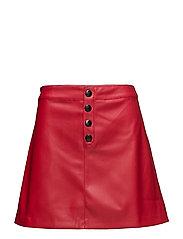 Mango - Contrast Buttons Skirt