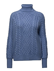 Mango - Cable-Knit Sweater