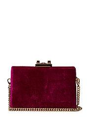 Velvet coffer bag - BRIGHT PINK