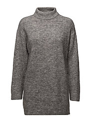 Oversize sweater - MEDIUM GREY