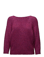 Crossover sweater - MEDIUM PURPLE