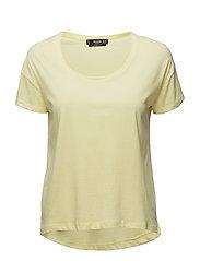 Organic cotton t-shirt - YELLOW