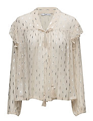 Metallic embroidery blouse - PINK