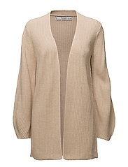 Puffed sleeves cardigan - PINK