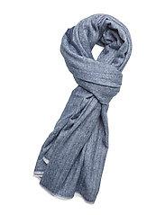 Bicolor scarf - NAVY