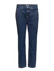 Crystal strass jeans - OPEN BLUE