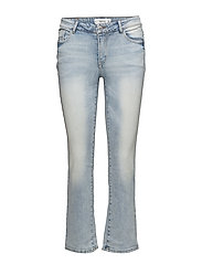 Straight cropped Jandri jeans - OPEN BLUE