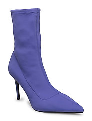 Heel sock boots - MEDIUM PURPLE