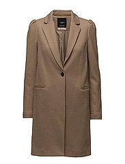 Mango - Puffed Sleeves Coat